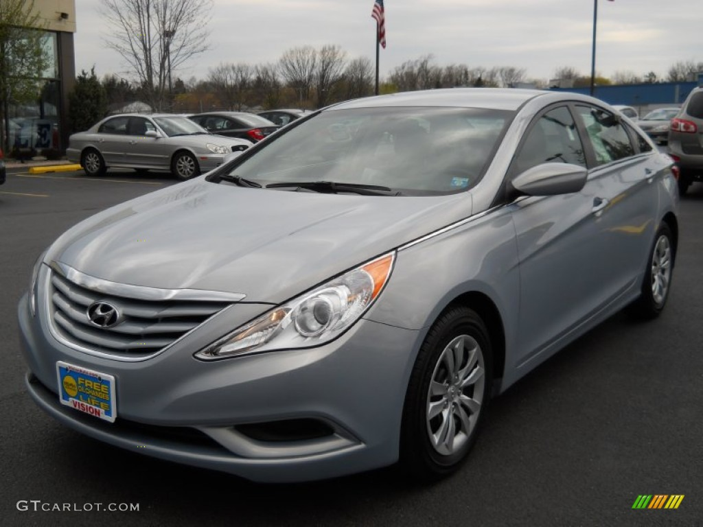 2012 hyundai sonata gls iridescent silver blue pearl color gray. Black Bedroom Furniture Sets. Home Design Ideas