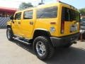 2003 Yellow Hummer H2 SUV  photo #8