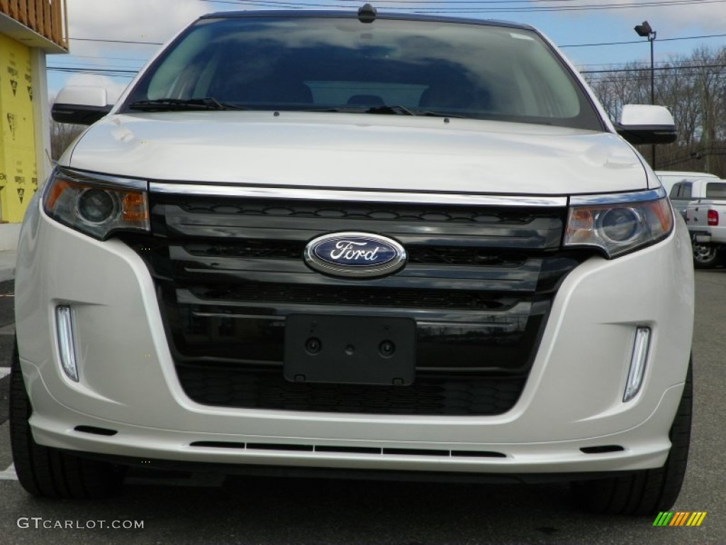 white platinum tri coat 2013 ford edge sport awd exterior photo 63237402. Black Bedroom Furniture Sets. Home Design Ideas