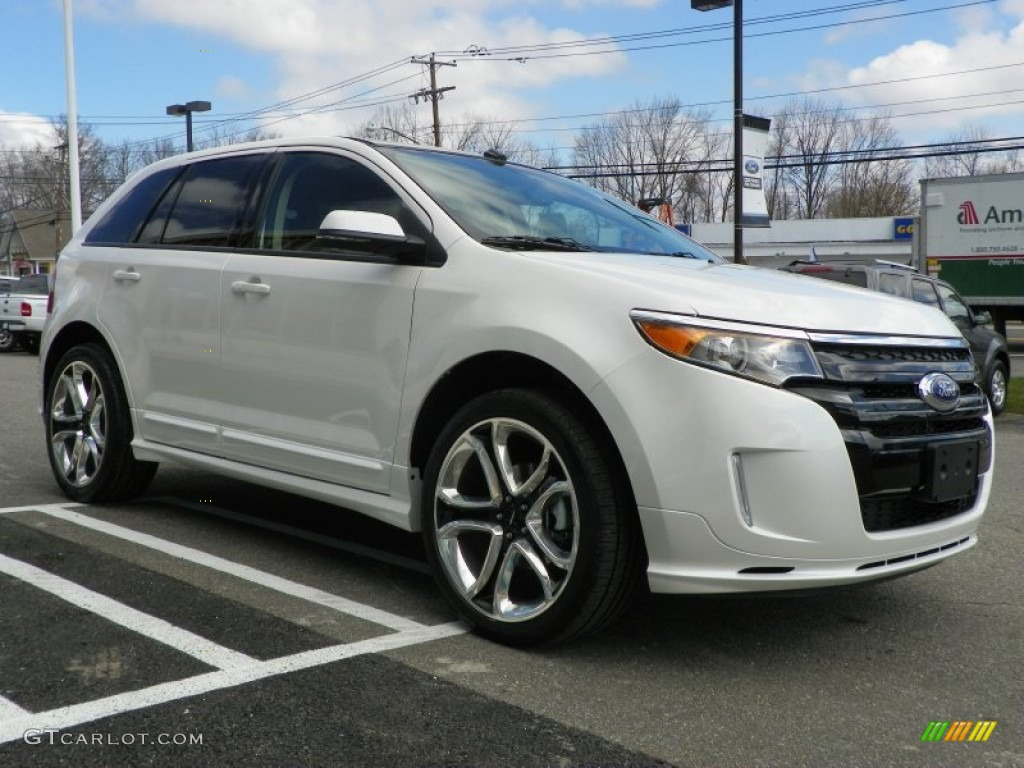 2013 white platinum tri coat ford edge sport awd 63200453 photo 4 car color. Black Bedroom Furniture Sets. Home Design Ideas