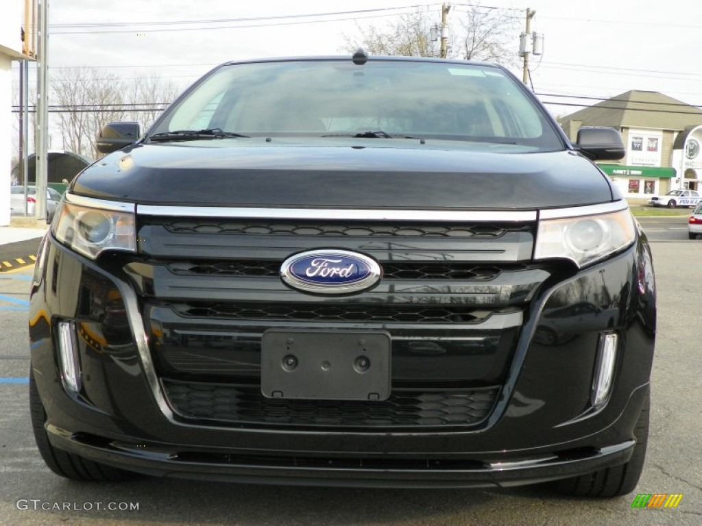 tuxedo black metallic 2013 ford edge sport awd exterior photo 63237810. Black Bedroom Furniture Sets. Home Design Ideas
