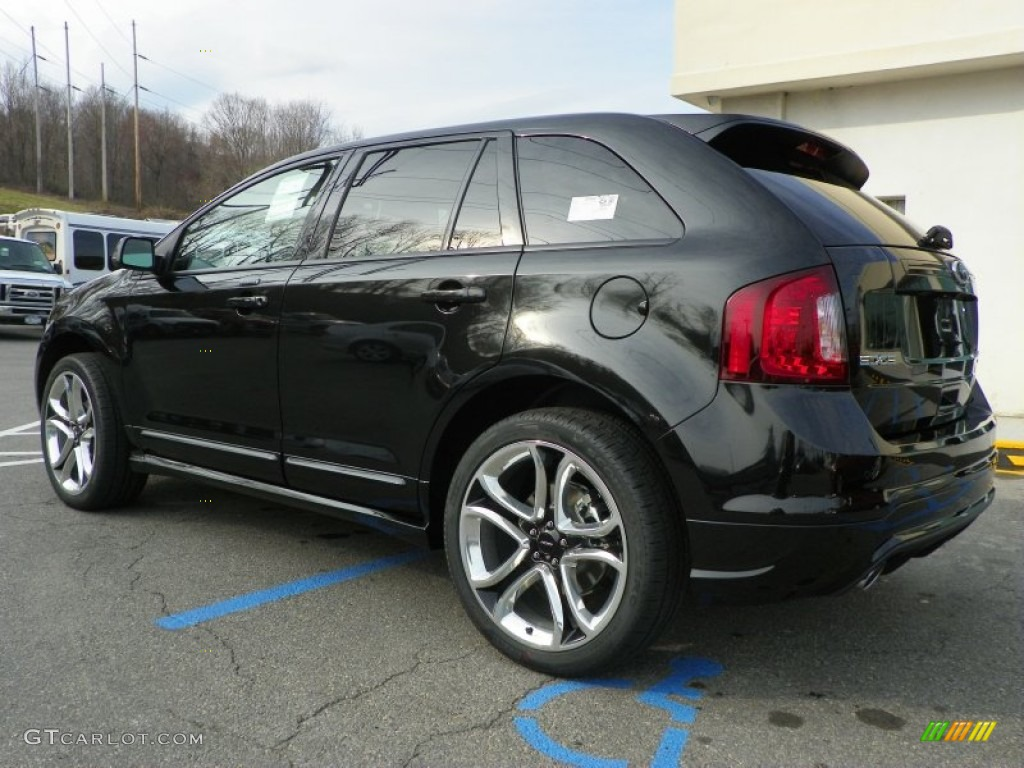 tuxedo black metallic 2013 ford edge sport awd exterior photo 63237840. Black Bedroom Furniture Sets. Home Design Ideas