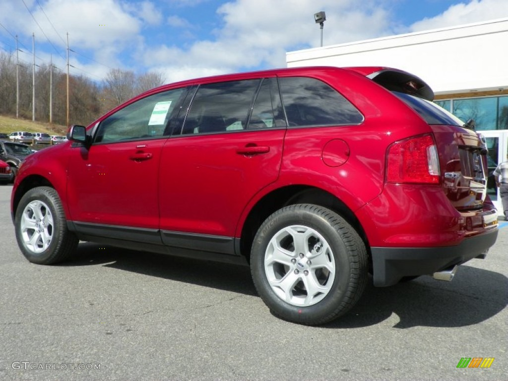 Car Picker  red ford Edge