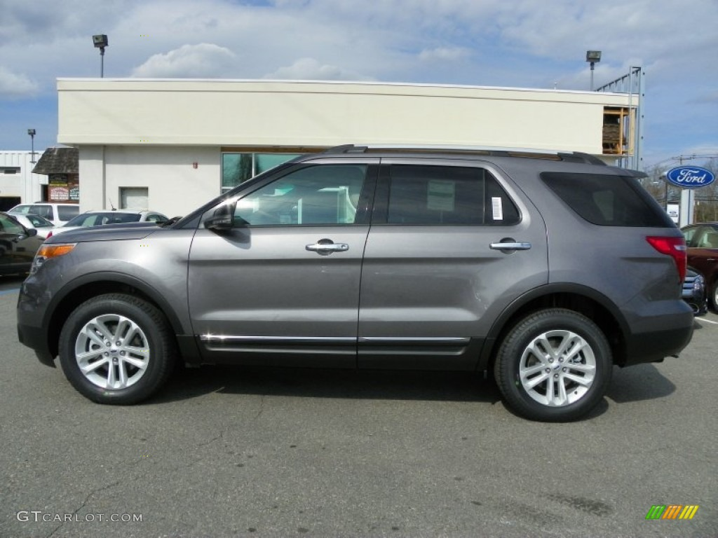 Sterling Gray Metallic 2013 Ford Explorer Xlt 4wd Exterior