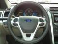 Medium Light Stone Steering Wheel Photo for 2013 Ford Explorer #63240435