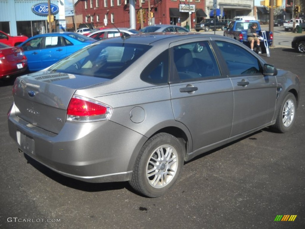 vapor silver metallic 2008 ford focus se sedan exterior photo 63241747. Black Bedroom Furniture Sets. Home Design Ideas
