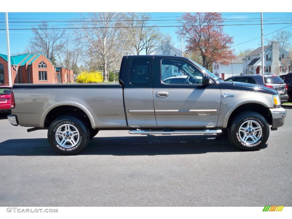 Black 2003 ford f150 heritage edition supercab 4x4 exterior photo 63246385