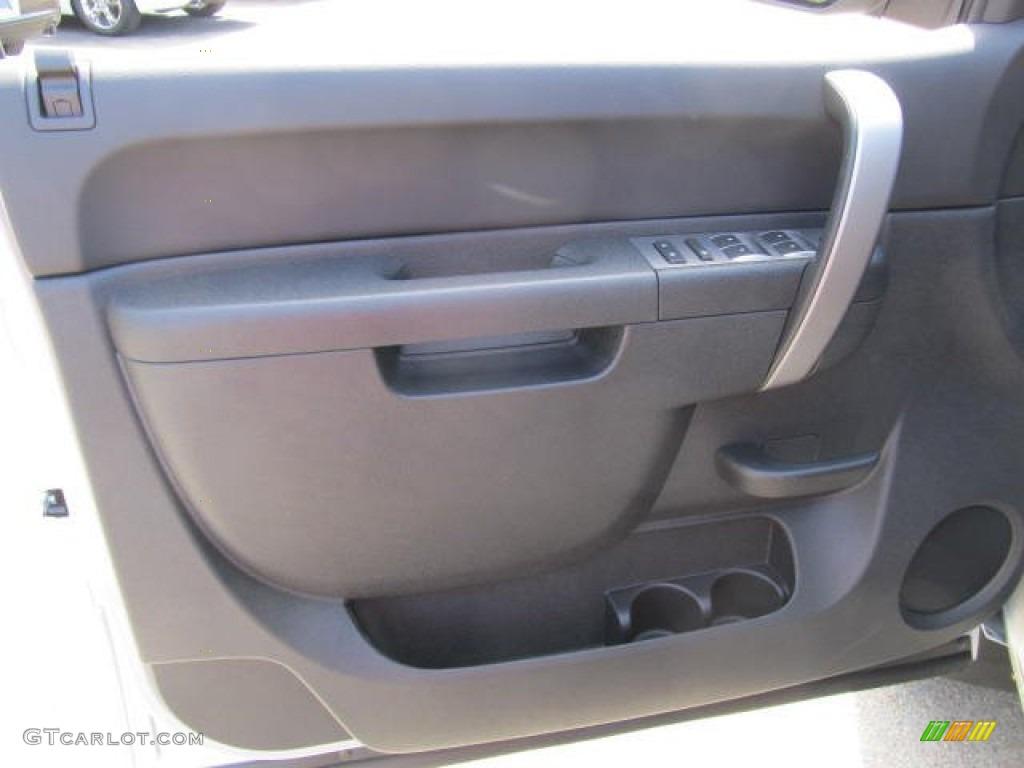 2012 Silverado 1500 LT Extended Cab 4x4 - Silver Ice Metallic / Ebony photo #7