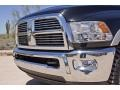 2010 Brilliant Black Crystal Pearl Dodge Ram 3500 Laramie Crew Cab 4x4 Dually  photo #14