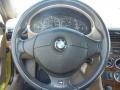 2002 BMW Z3 Beige Interior Steering Wheel Photo