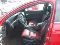 Onyx/Red Front Seat Photo for 2009 Pontiac G8 #63261382