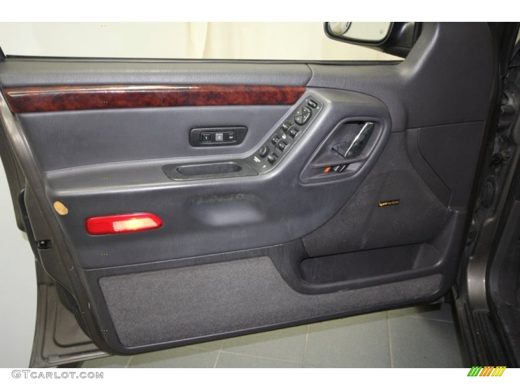 2000 Jeep Grand Cherokee Limited Agate Door Panel Photo