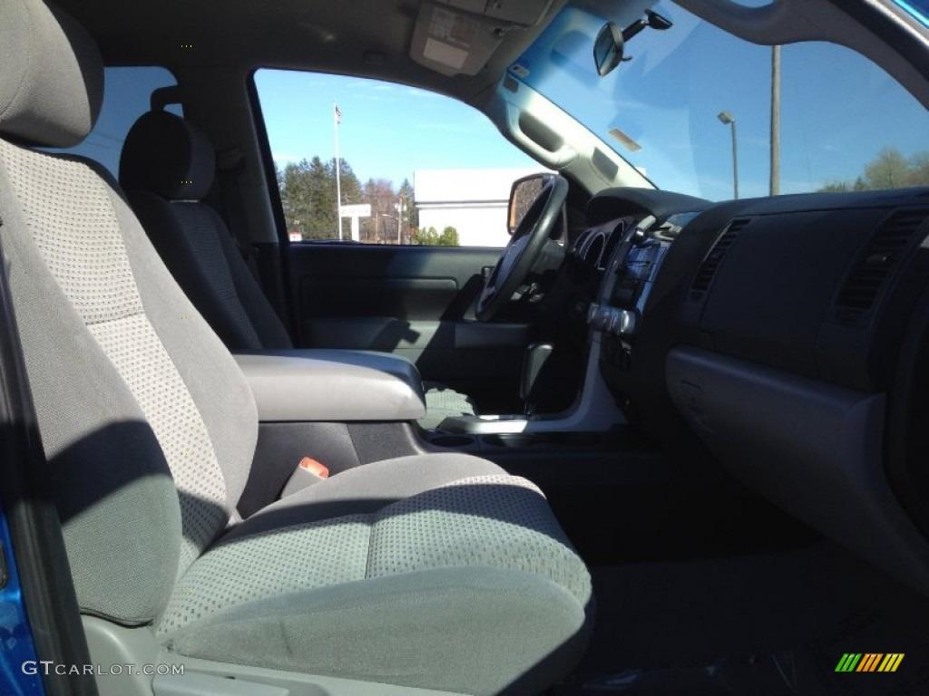 2008 Tundra SR5 TRD Double Cab 4x4 - Blue Streak Metallic / Graphite Gray photo #15
