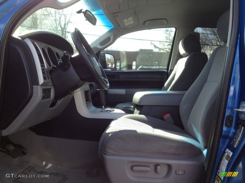 2008 Tundra SR5 TRD Double Cab 4x4 - Blue Streak Metallic / Graphite Gray photo #18