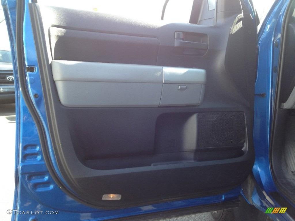 2008 Tundra SR5 TRD Double Cab 4x4 - Blue Streak Metallic / Graphite Gray photo #19