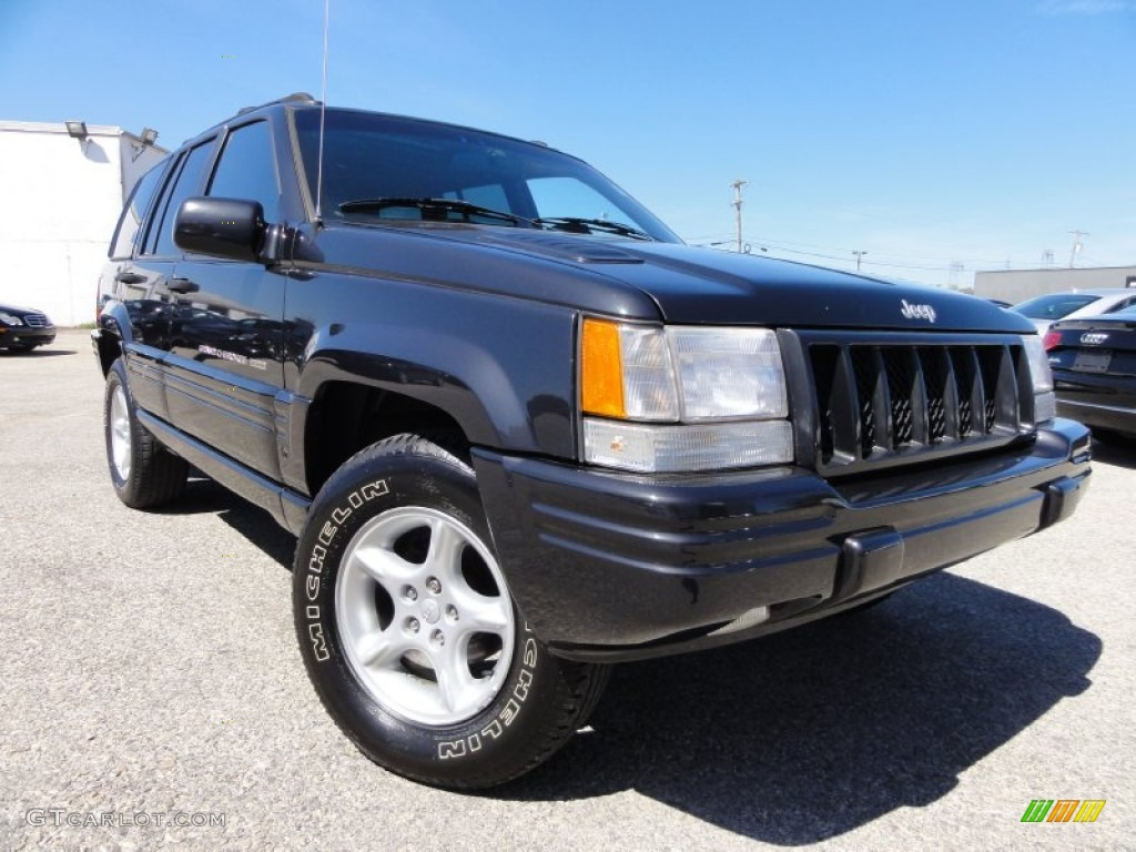 1998 black jeep grand cherokee 5 9 limited 4x4 63242593 car color galleries for 1998 jeep grand cherokee interior
