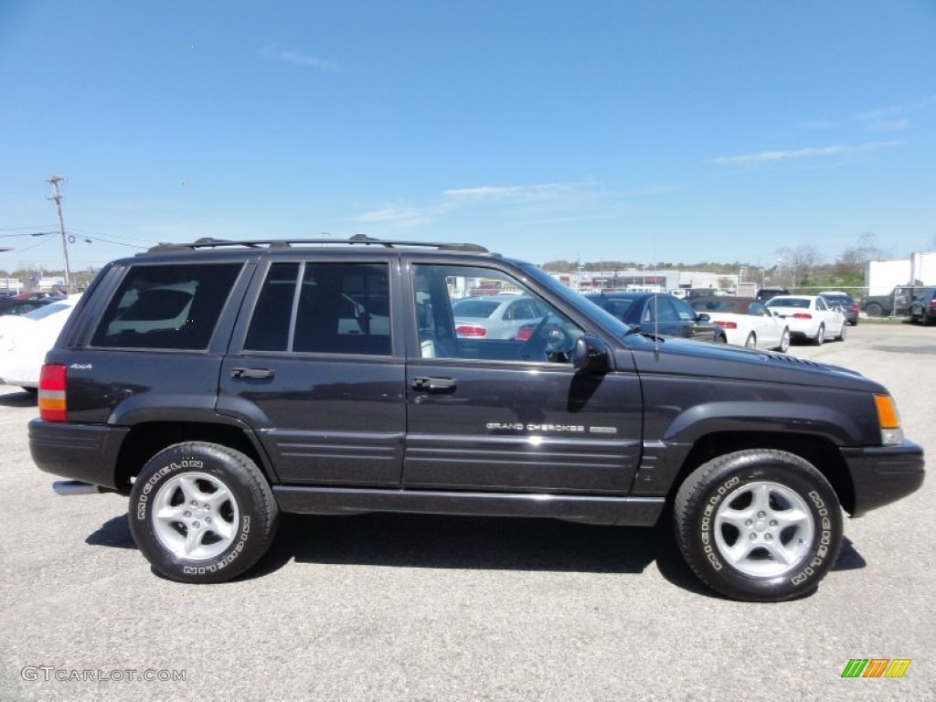 black 1998 jeep grand cherokee 5 9 limited 4x4 exterior photo. Cars Review. Best American Auto & Cars Review
