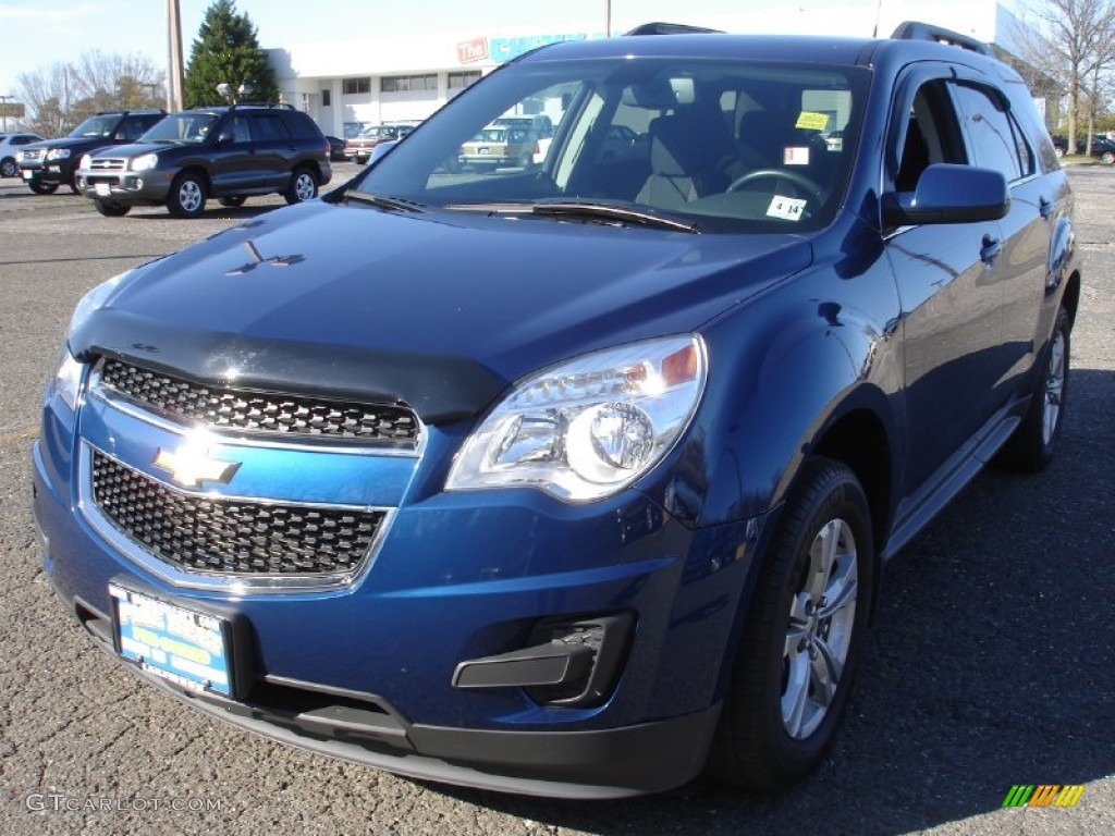 2010 Equinox LT - Navy Blue Metallic / Jet Black photo #1
