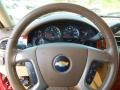 2009 Deep Ruby Red Metallic Chevrolet Silverado 1500 LTZ Crew Cab 4x4  photo #14