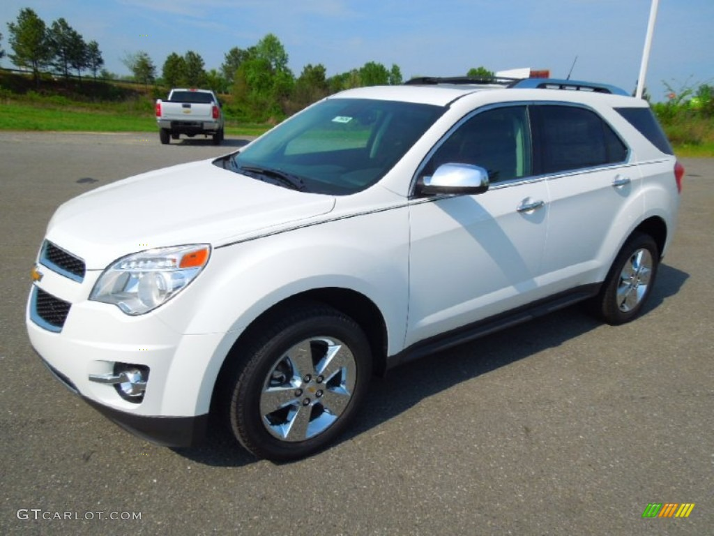 2012 summit white chevrolet equinox ltz 63243275 car color galleries. Black Bedroom Furniture Sets. Home Design Ideas