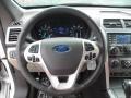Medium Light Stone Steering Wheel Photo for 2013 Ford Explorer #63311462