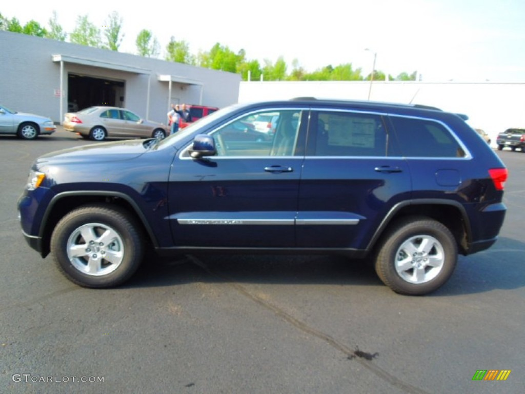 2012 jeep grand cherokee laredo 4x4 true blue pearl color dark. Cars Review. Best American Auto & Cars Review