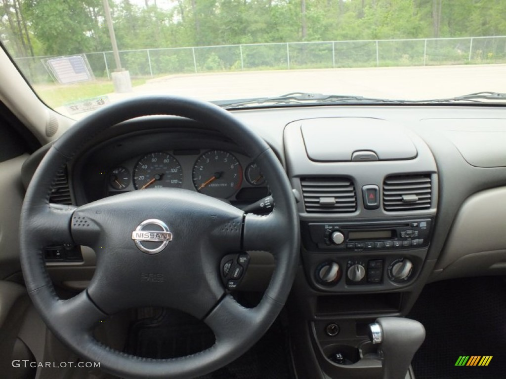 2003 nissan sentra se r sand beige dashboard photo. Black Bedroom Furniture Sets. Home Design Ideas
