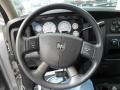2004 Dodge Ram 3500 Dark Slate Gray Interior Steering Wheel Photo