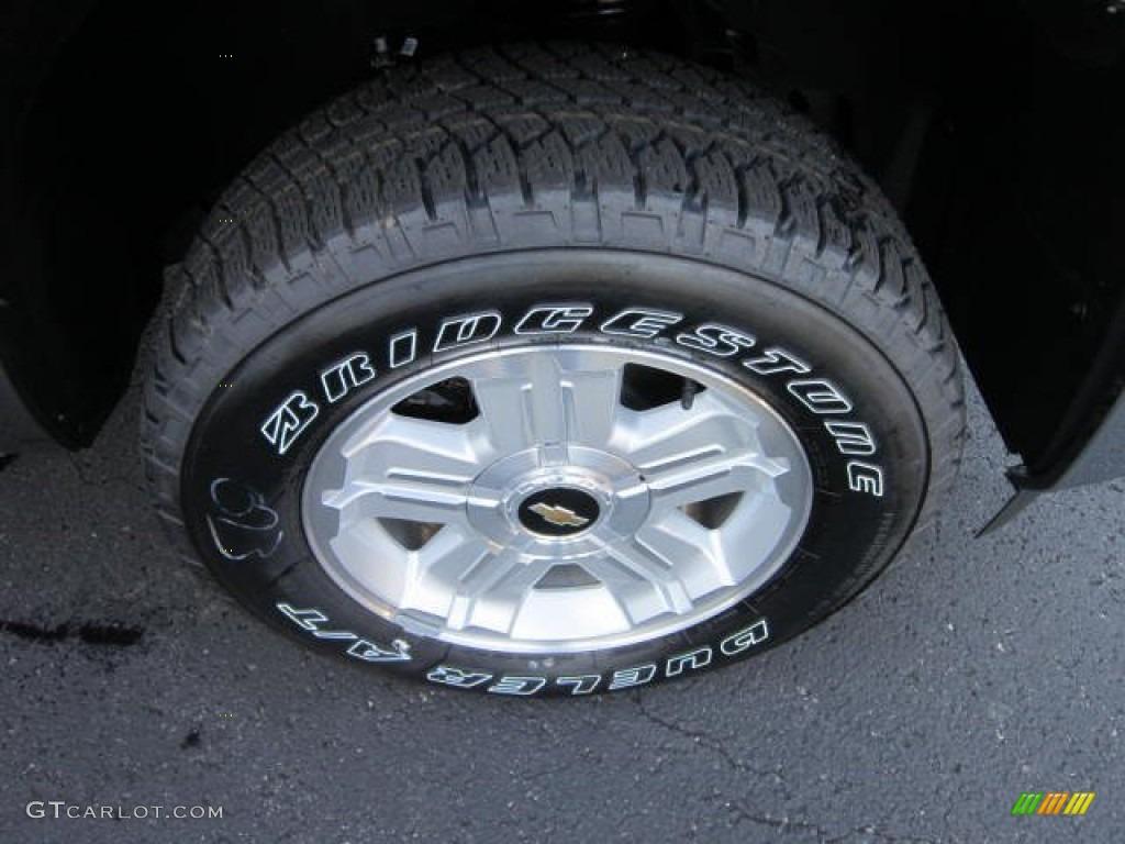 2012 Silverado 1500 LT Crew Cab 4x4 - Mocha Steel Metallic / Light Cashmere/Dark Cashmere photo #9