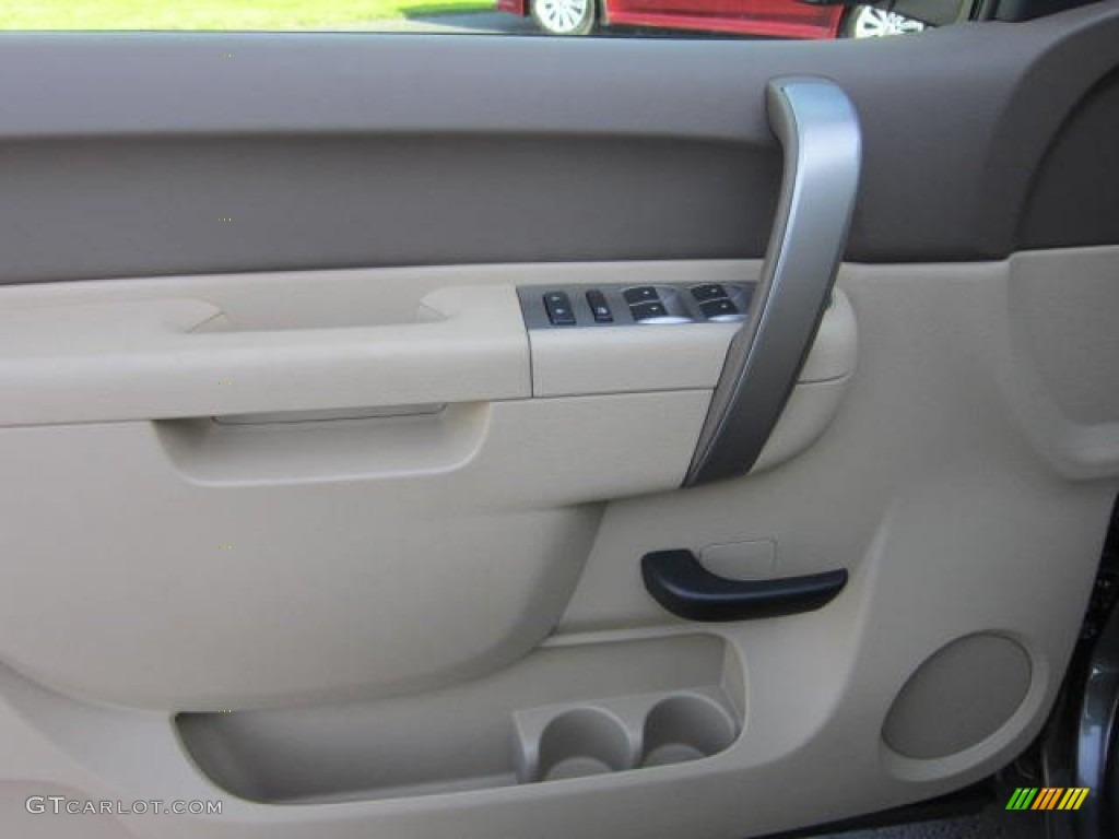 2012 Silverado 1500 LT Crew Cab 4x4 - Mocha Steel Metallic / Light Cashmere/Dark Cashmere photo #18