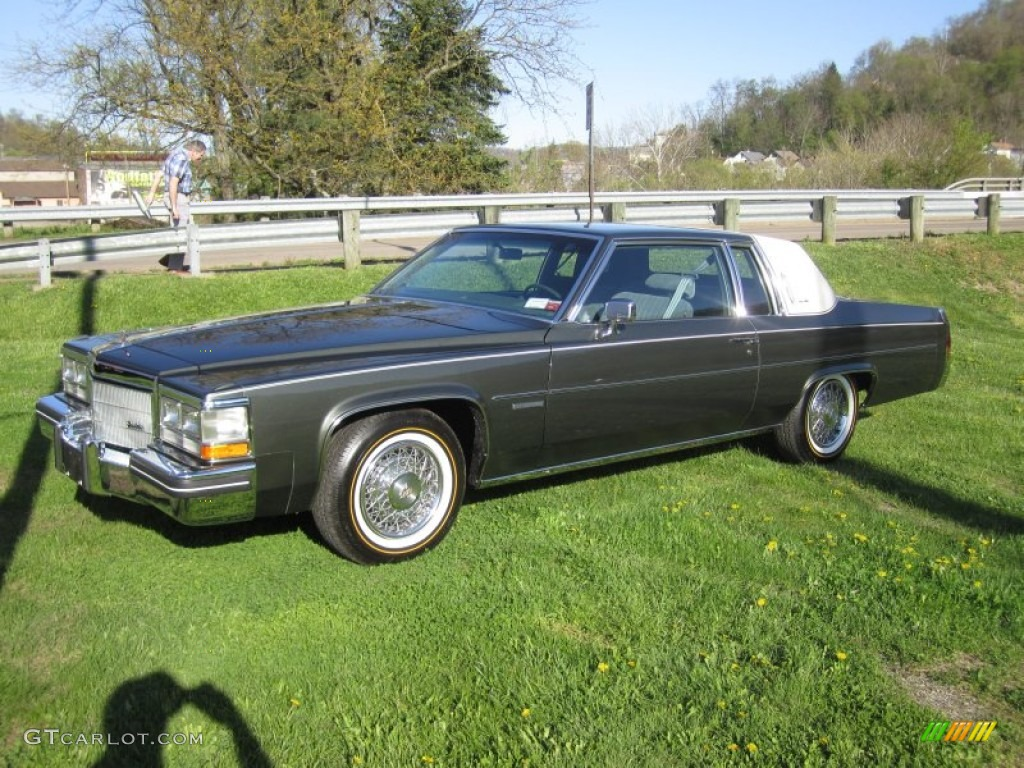 Midnight Sand Gray 1983 Cadillac Deville Coupe Exterior Photo 63335290 Gtcarlot Com