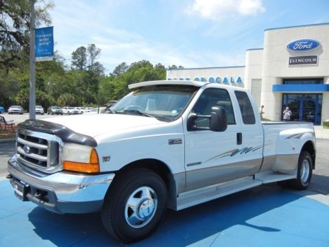 1999 Ford F350 Super Duty Lariat SuperCab 4x4 Dually Data, Info and Specs