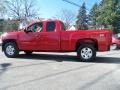 2012 Victory Red Chevrolet Silverado 1500 LT Extended Cab 4x4  photo #7