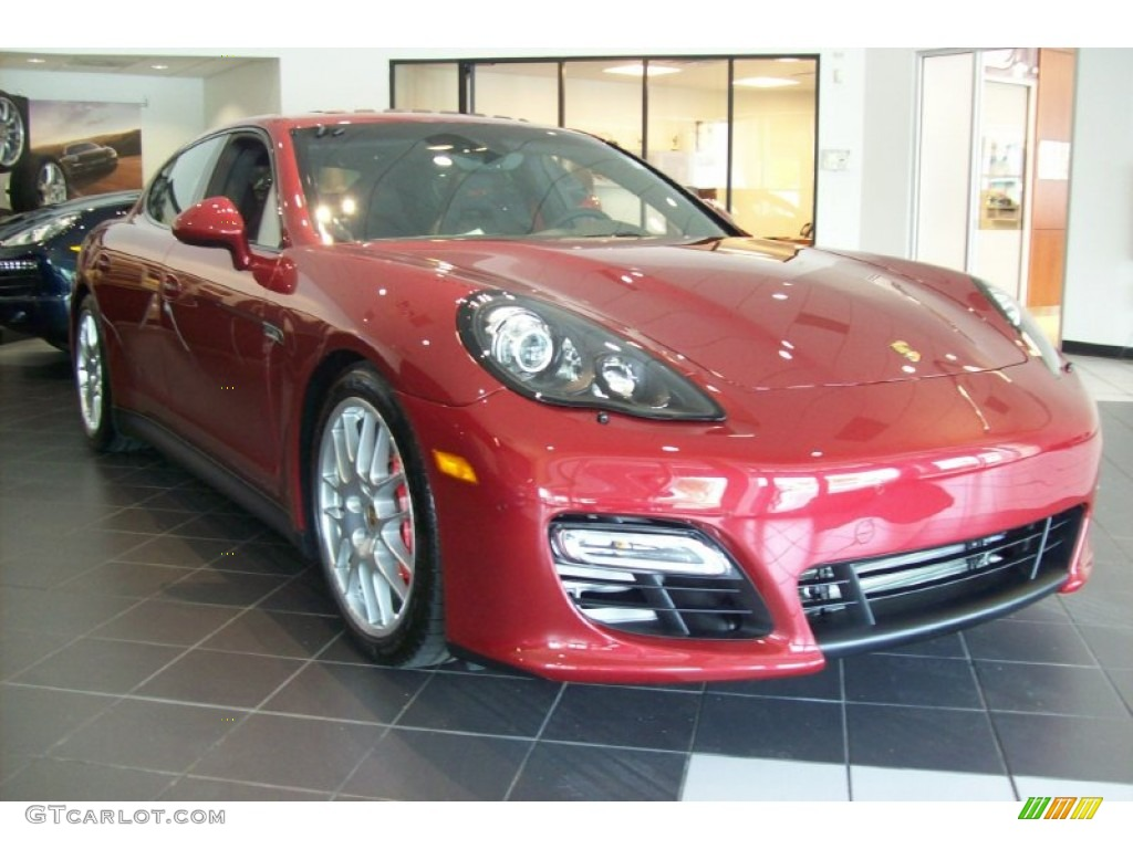 ruby red metallic 2013 porsche panamera gts exterior photo. Black Bedroom Furniture Sets. Home Design Ideas