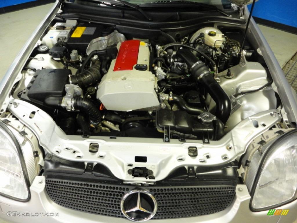 1999 mercedes benz slk 230 kompressor roadster engine for Mercedes benz kompressor engine