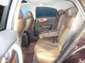 2011 Infiniti FX Java Interior Rear Seat Photo