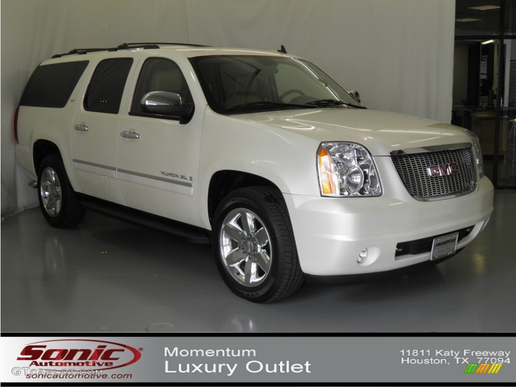2009 white diamond tricoat gmc yukon xl slt 63319750 photo 22 car color galleries. Black Bedroom Furniture Sets. Home Design Ideas