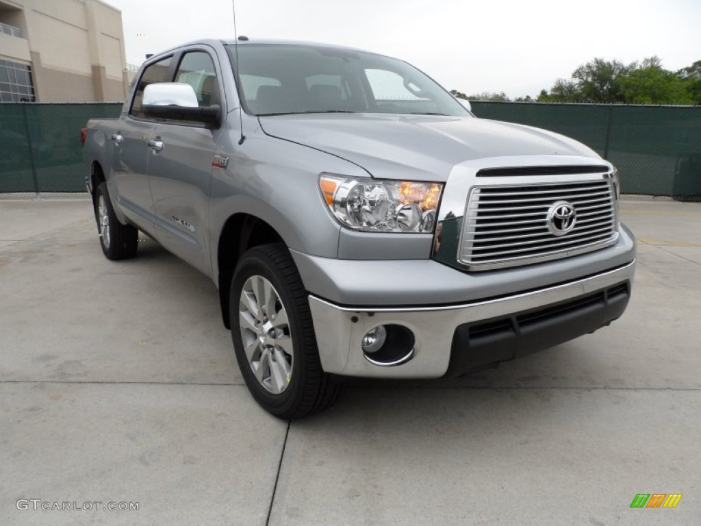 2012 silver sky metallic toyota tundra platinum crewmax 4x4 63319727 car color. Black Bedroom Furniture Sets. Home Design Ideas