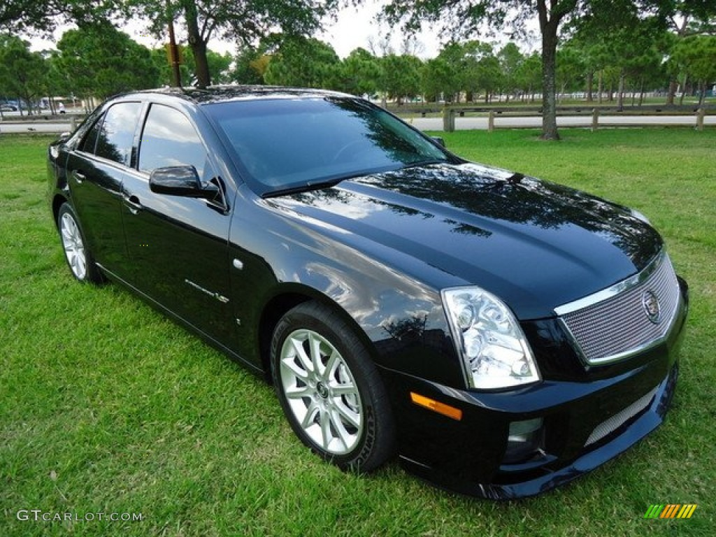 black raven 2007 cadillac sts v series exterior photo. Black Bedroom Furniture Sets. Home Design Ideas