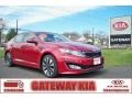 Spicy Red 2011 Kia Optima SX