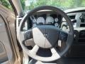 2008 Light Khaki Metallic Dodge Ram 1500 Lone Star Edition Quad Cab 4x4  photo #32