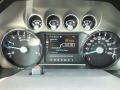 2012 Ingot Silver Metallic Ford F250 Super Duty Lariat Crew Cab 4x4  photo #15