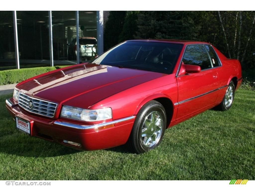2002 Crimson Red Pearl Cadillac Eldorado Esc 63383828 Car Color Galleries