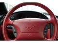 1995 Ford Mustang Red Interior Steering Wheel Photo
