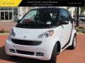 Crystal White 2012 Smart fortwo passion coupe
