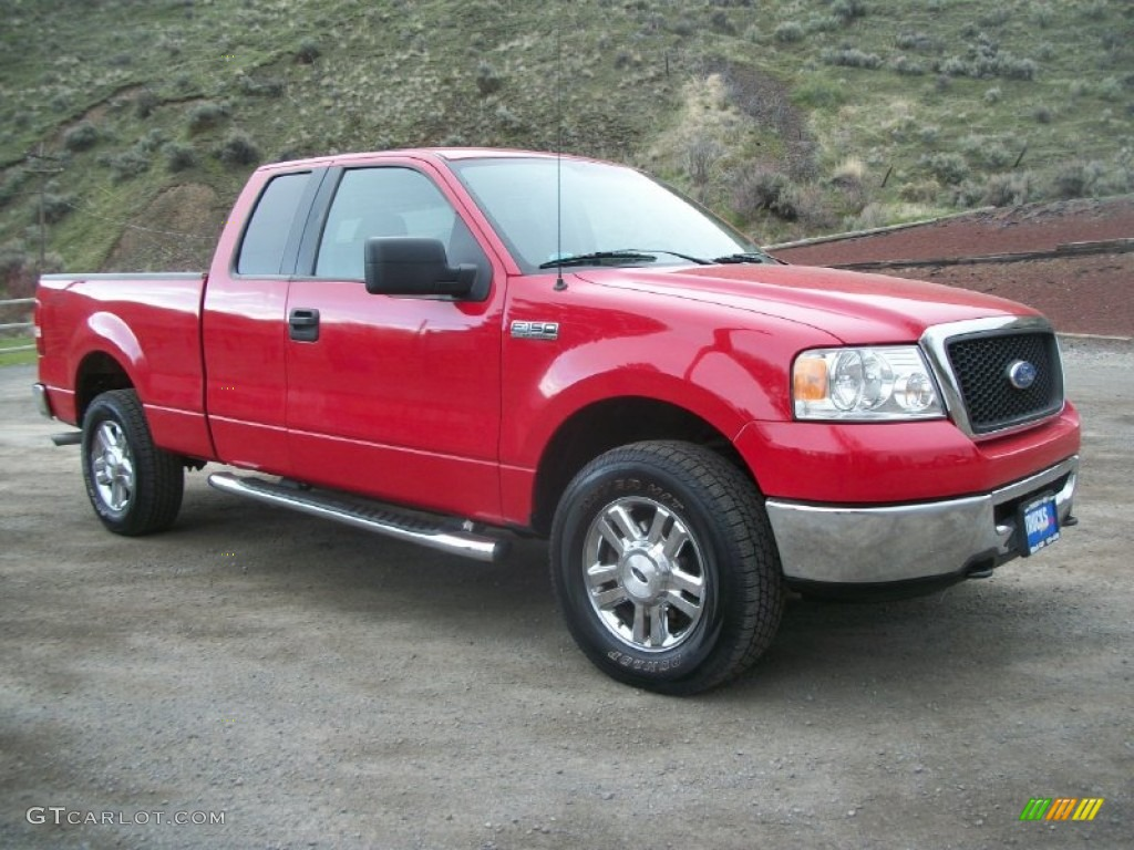 2006 Ford F250 King Ranch2010 F150 Ranch 4wd Navigation 2004 F 150 Bright Red Xlt Supercab 4x4 Exterior Photo