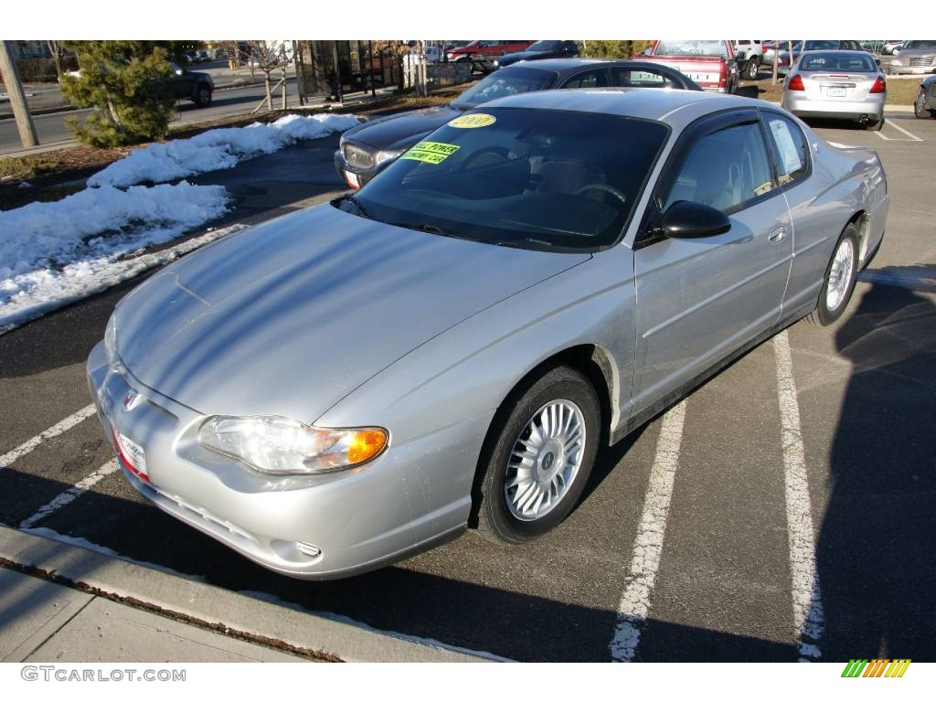 2000 Monte Carlo LS - Galaxy Silver Metallic / Dark Pewter photo #1