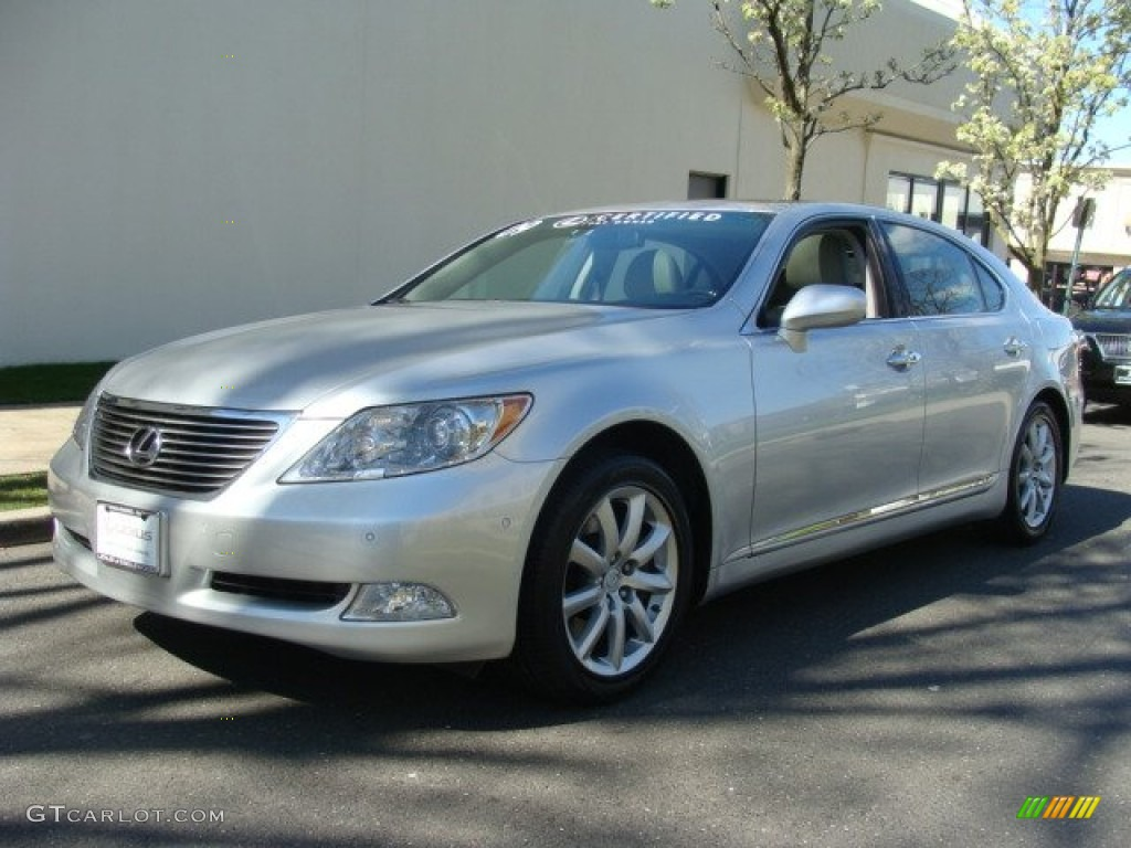2009 mercury silver metallic lexus ls 460 l awd 63383990. Black Bedroom Furniture Sets. Home Design Ideas
