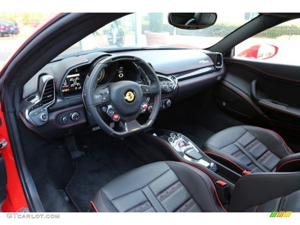 Only For Cars Nero Black Interior 2011 Ferrari 458 Italia Photo 63441149