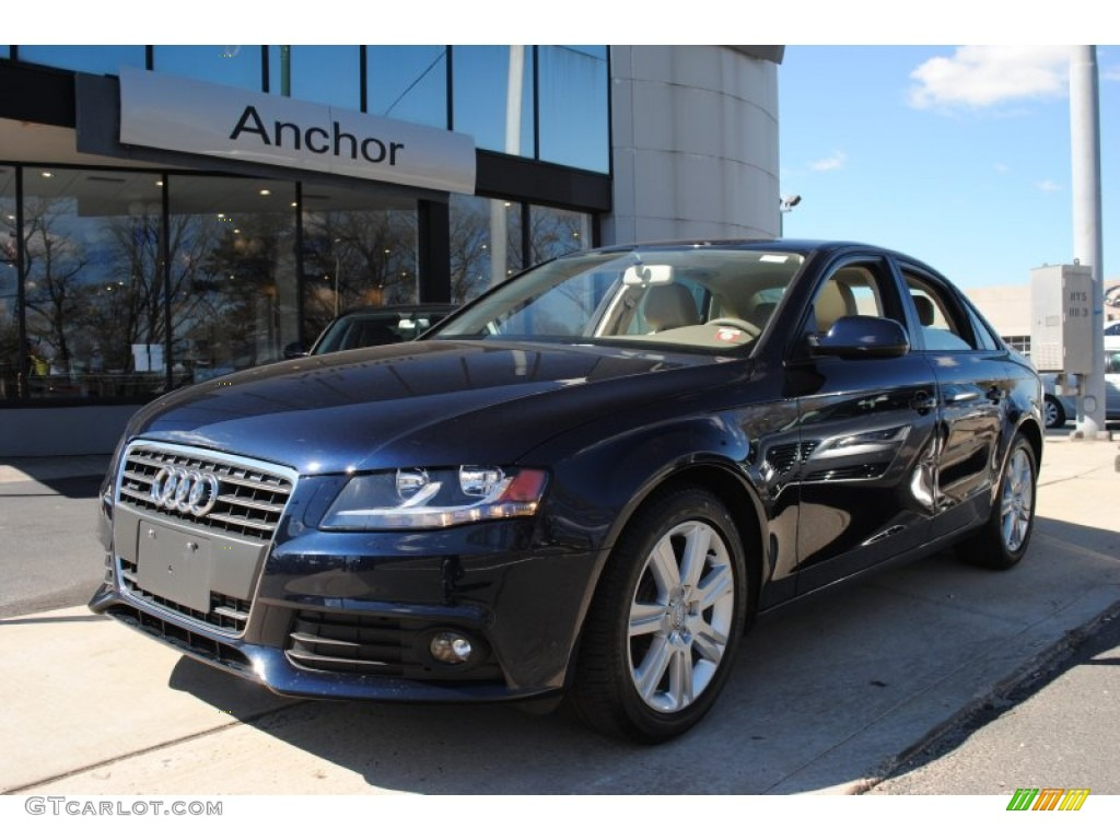2011 deep sea blue pearl audi a4 2 0t quattro sedan 63383968 car color galleries. Black Bedroom Furniture Sets. Home Design Ideas